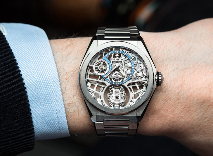 The Wrist Masterpiece that Challenge Gravity: 2018 New Zenith DEFY ZERO G 44MM Timepiece 95.9000.8812/78.M9000